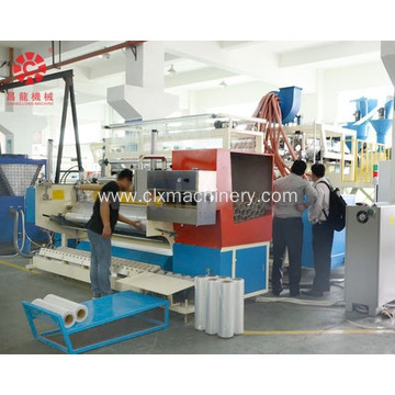 LLDPE Cast Stretch Wrapping Film Plant